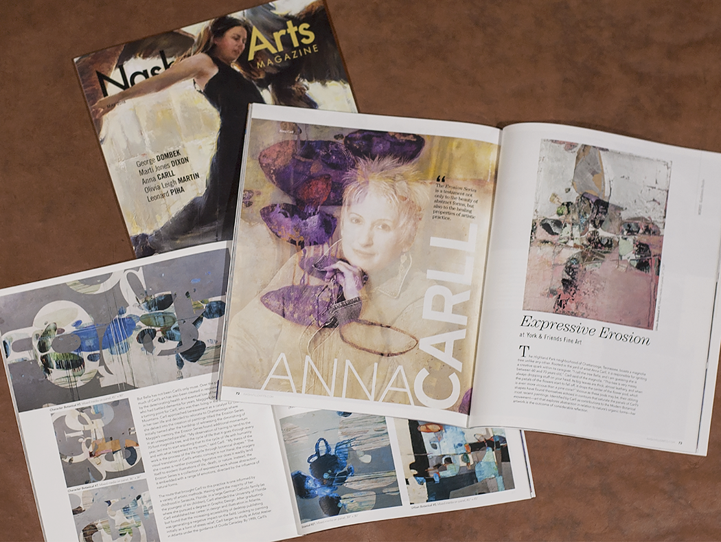 Feature article in the May Issue of Nashville Arts Magazine