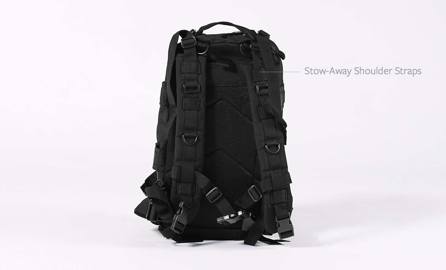 SOLO PACK Stow-Away Shoulder Straps