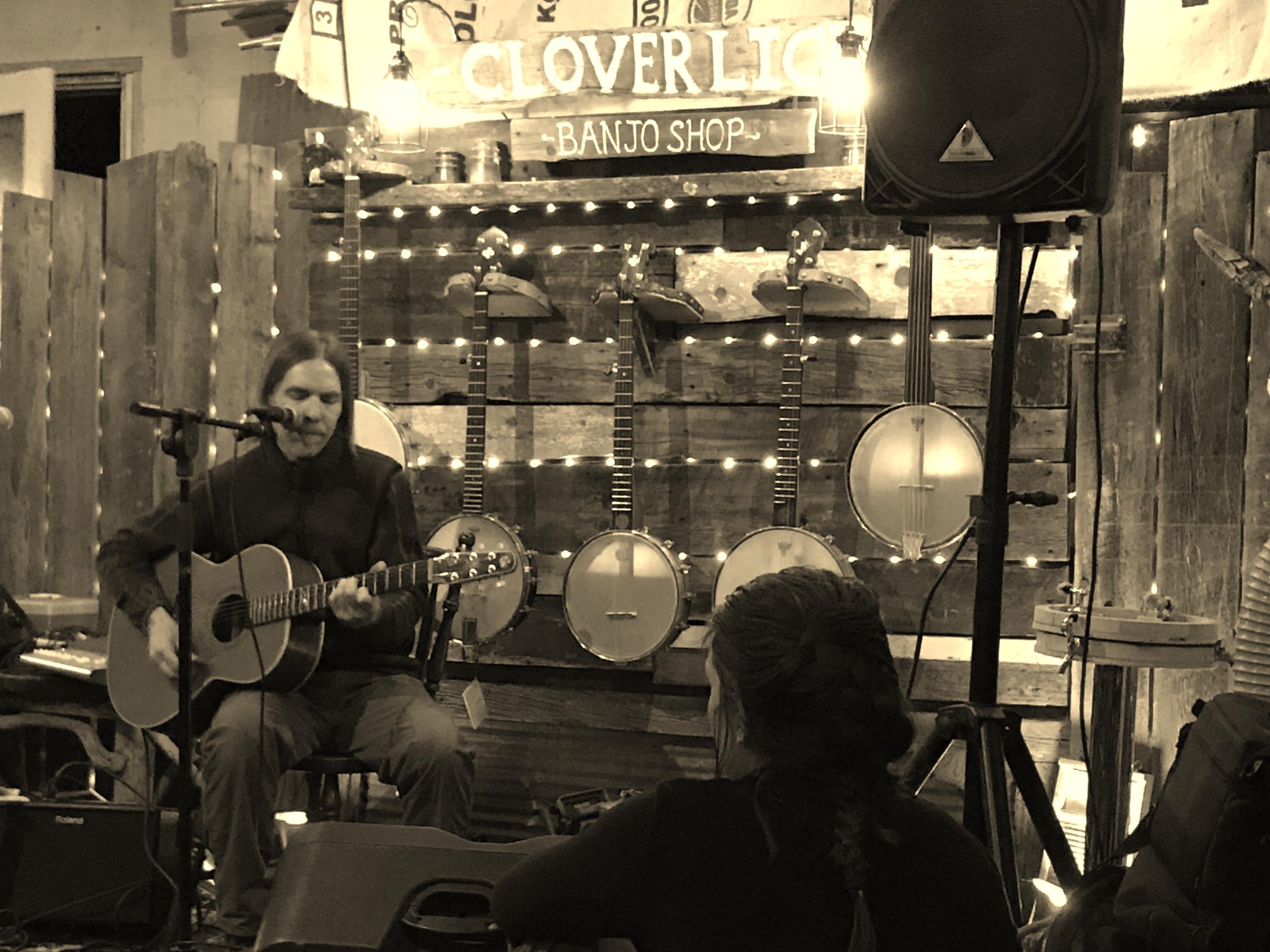 2018 Cloverlick Banjo Shop Fundraiser.JPG