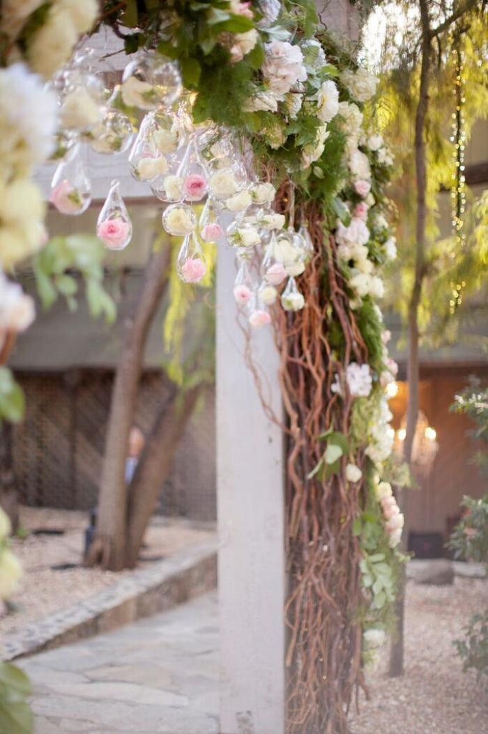 Vendor Credits|| Photography:  Glass Jar Photography  || Venue:  Calamigos Ranch, Malibu  || Coordination:  Megan Ondercin  || Flowers:  Wisteria Lane  || Gown:  Vera Wang