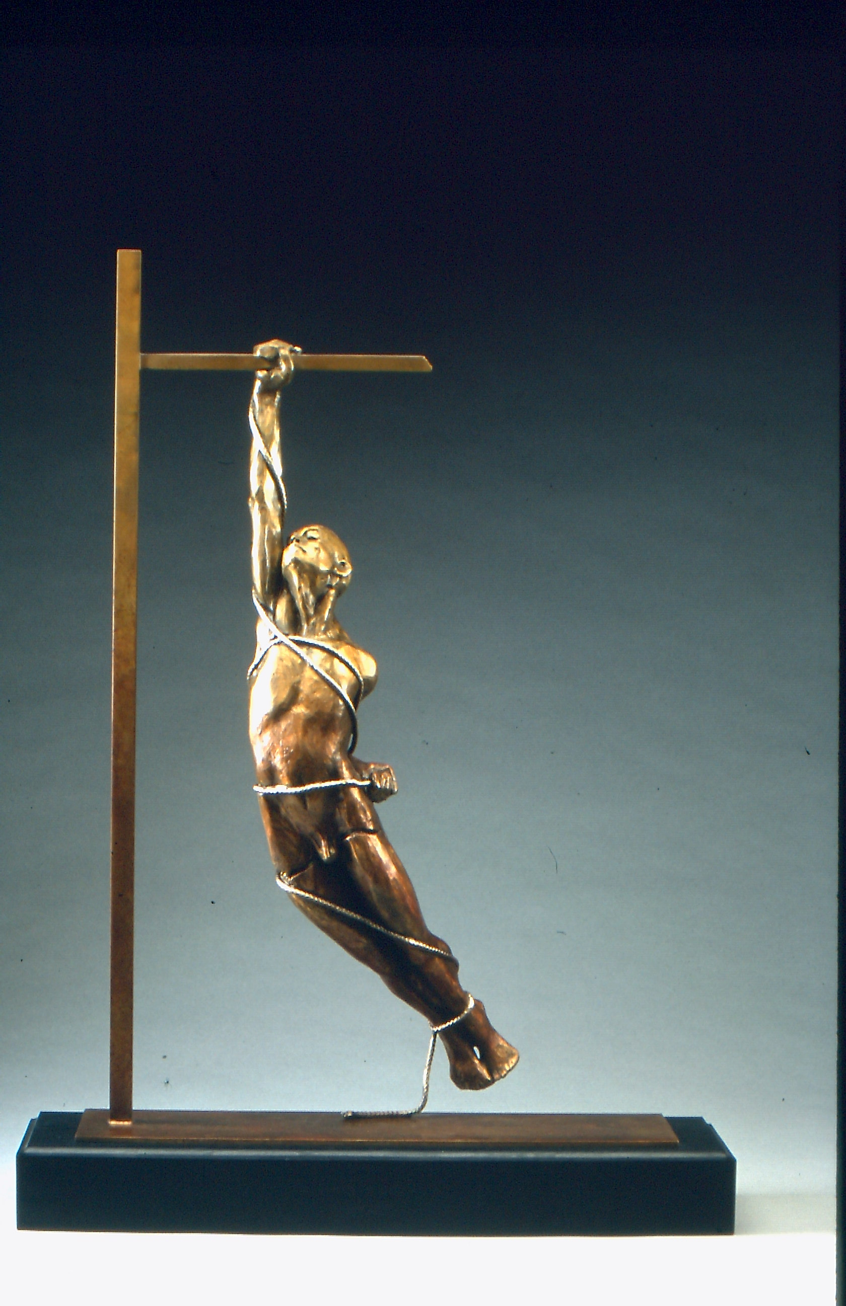 Ray of Hope (2001) Bronze, Edition: 9, 28x21x5in. $6,850