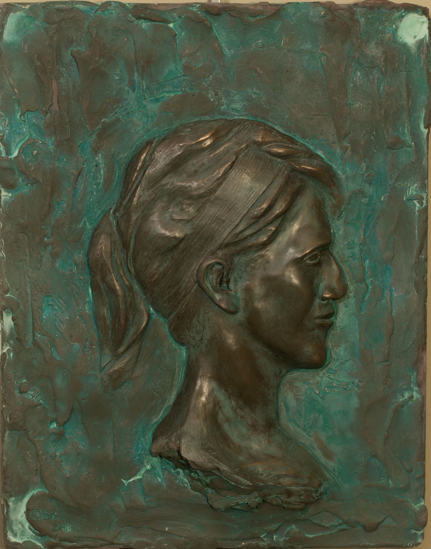 Emily (2016) FMG Bronze, Edition: 30, 14x11x.375in. $1,250