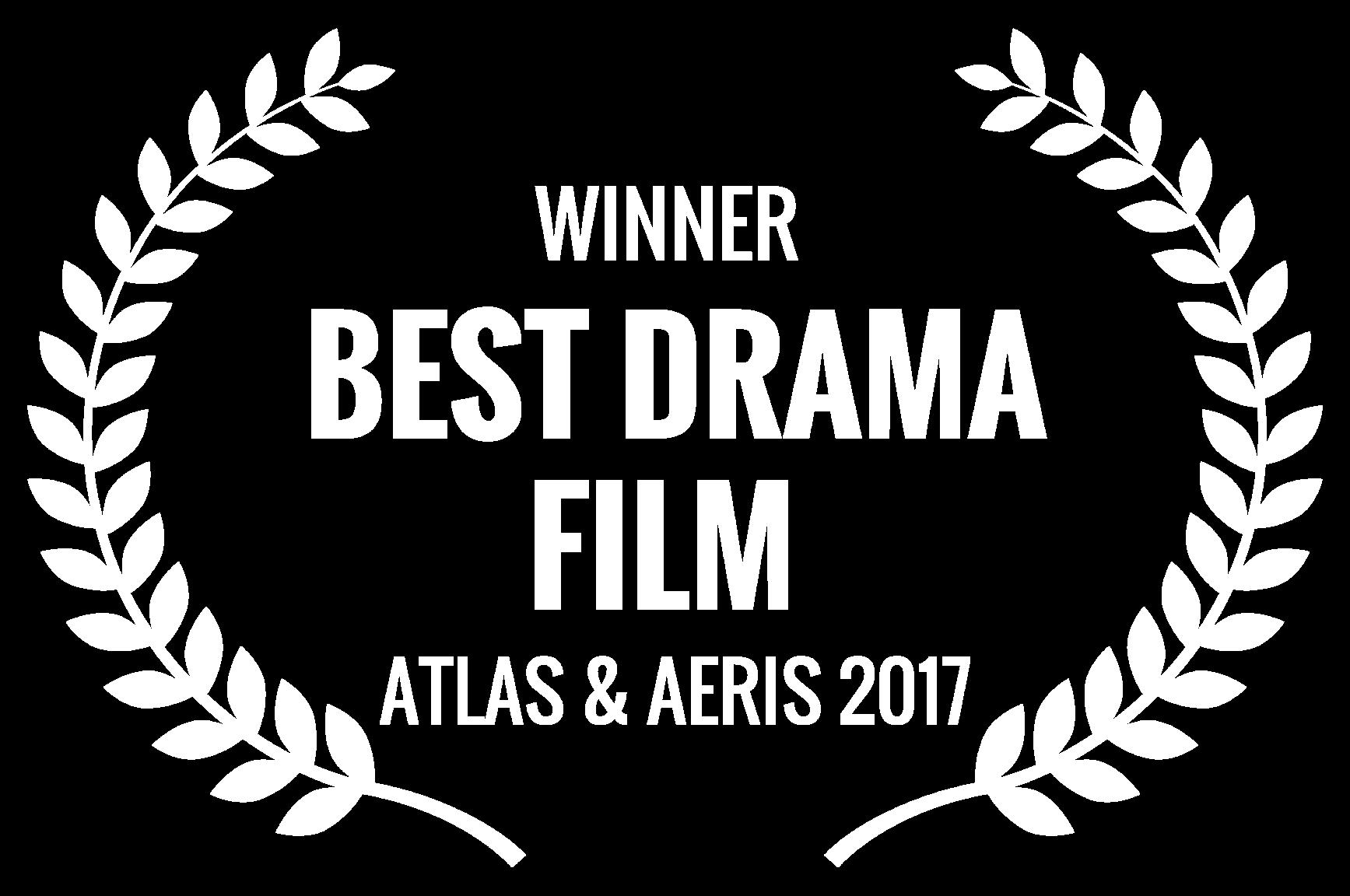 WINNER  - BEST DRAMA FILM  - ATLAS  AERIS 2017.png