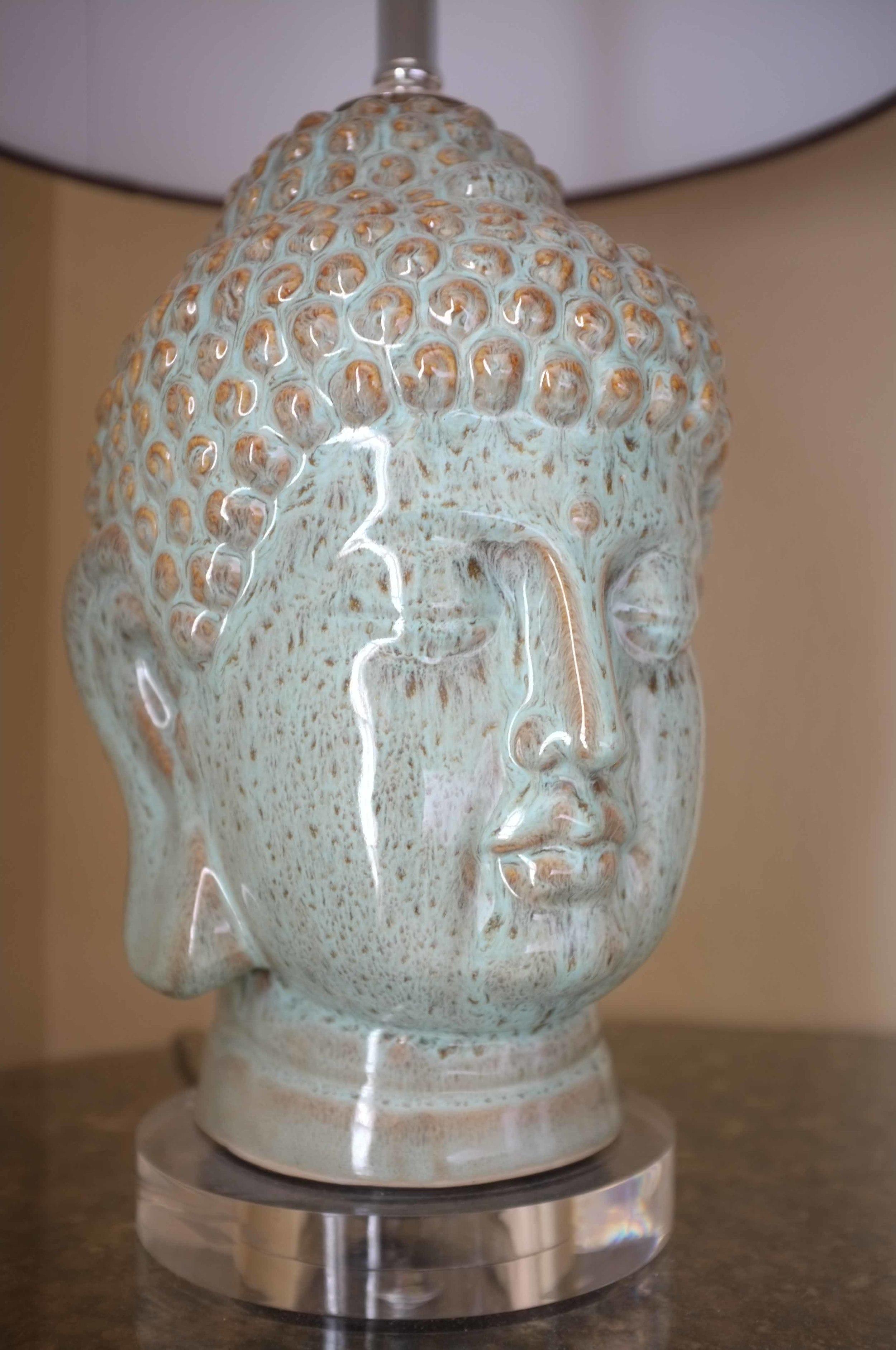 Queen Upstairs Buddha head lamp