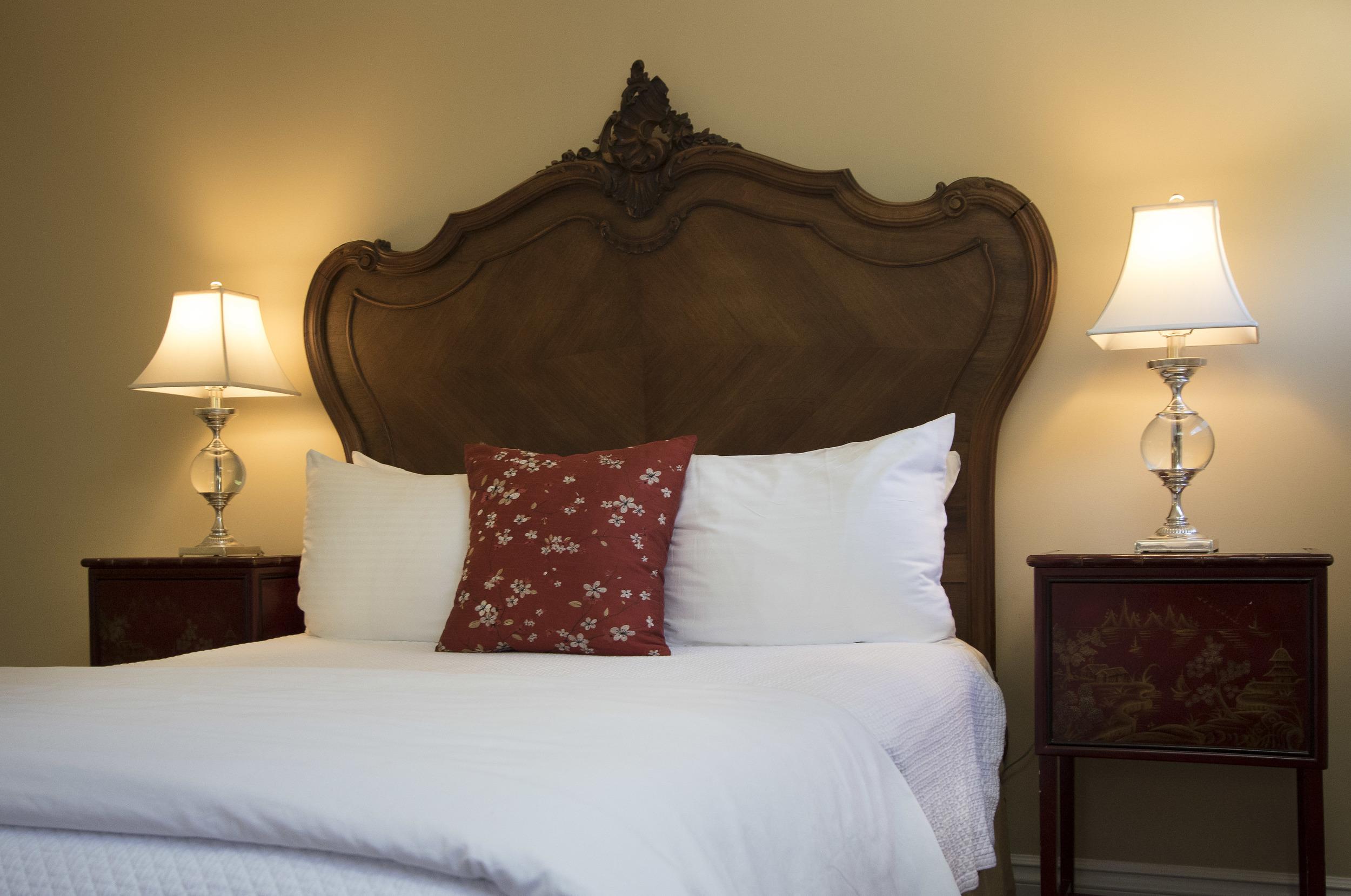 Queen Suite antique bed