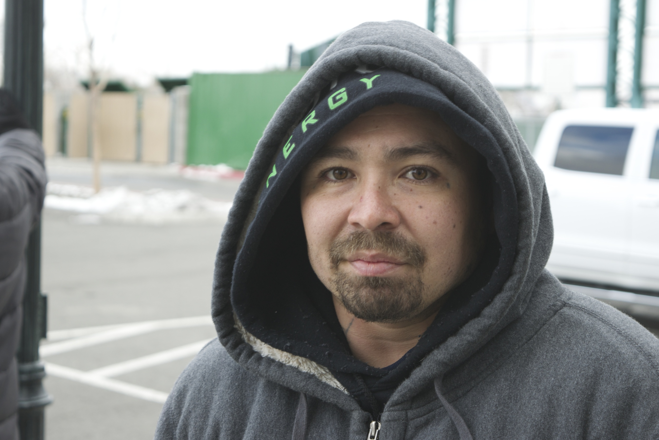 """Albert's message to other Renoites:  """"If there's any funding or any people that want to come out and help. Please do."""""""