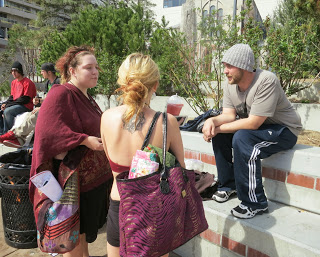 Brian Eddy took part in an outreach effort for homeless kids last year in Reno