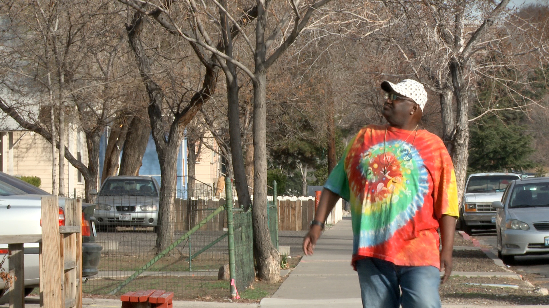 A Renoite wonders where all the people will go. Dozens and dozens of residents, from students, to families, to old retirees, currently live in this downtown Reno block set for demolition.