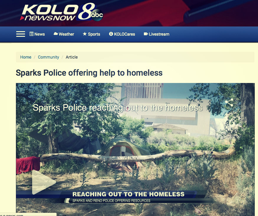 One day after positive media reports came out about police, homeless residents here say they were issued citations for illegal camping. July 4, 2016