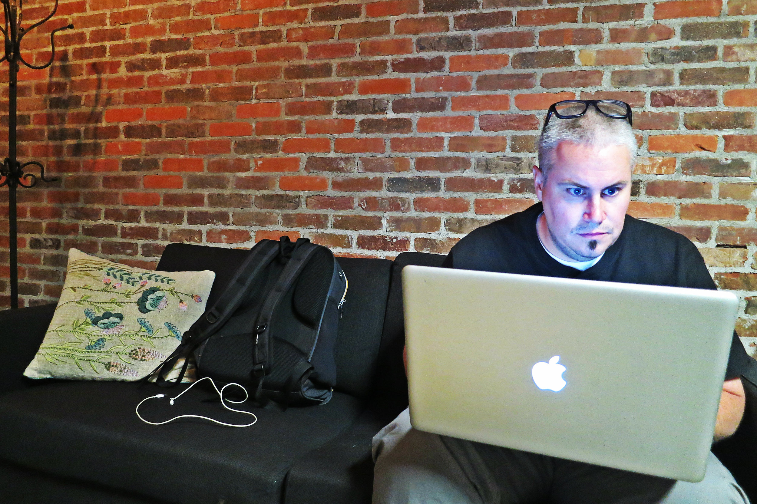 "When he's not around a van, Seth can often be found at The Basement, an underground incubator space in downtown Reno with vendors.  ""The Basement down here has become this hub where people are meeting at these tables, with people who are trying to come up with their own ideas and build new connections. Anyone can come do homework, have an important meeting, have a party, have some sort of event."""