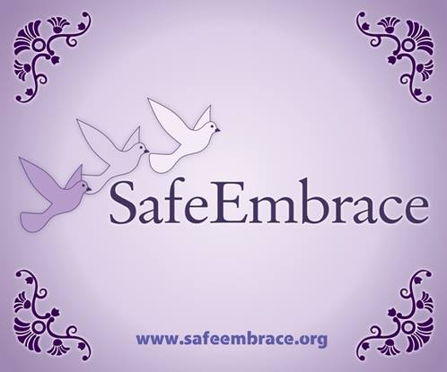 Recent promotional material for the Safe Embrace website.