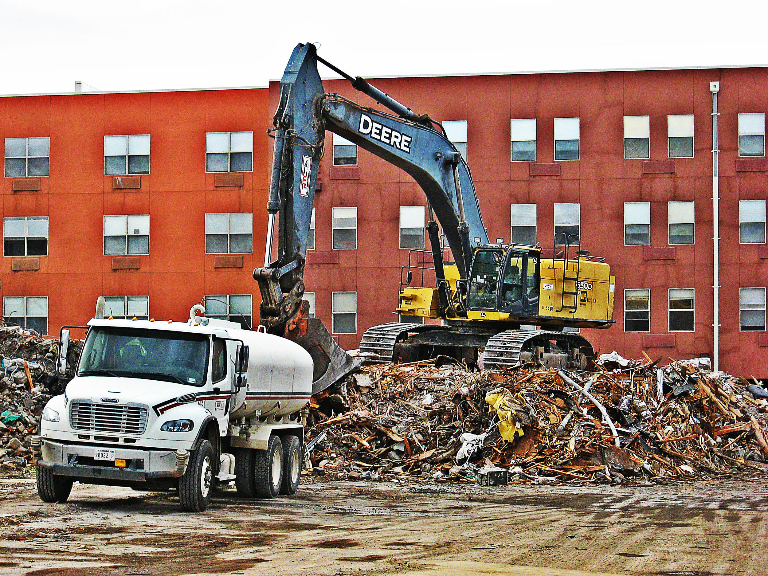 The Carriage Inn, recently a motel for long-term residents, has been bought off and razed as part of Jacobs Entertainment Inc. plans for new downtown development.