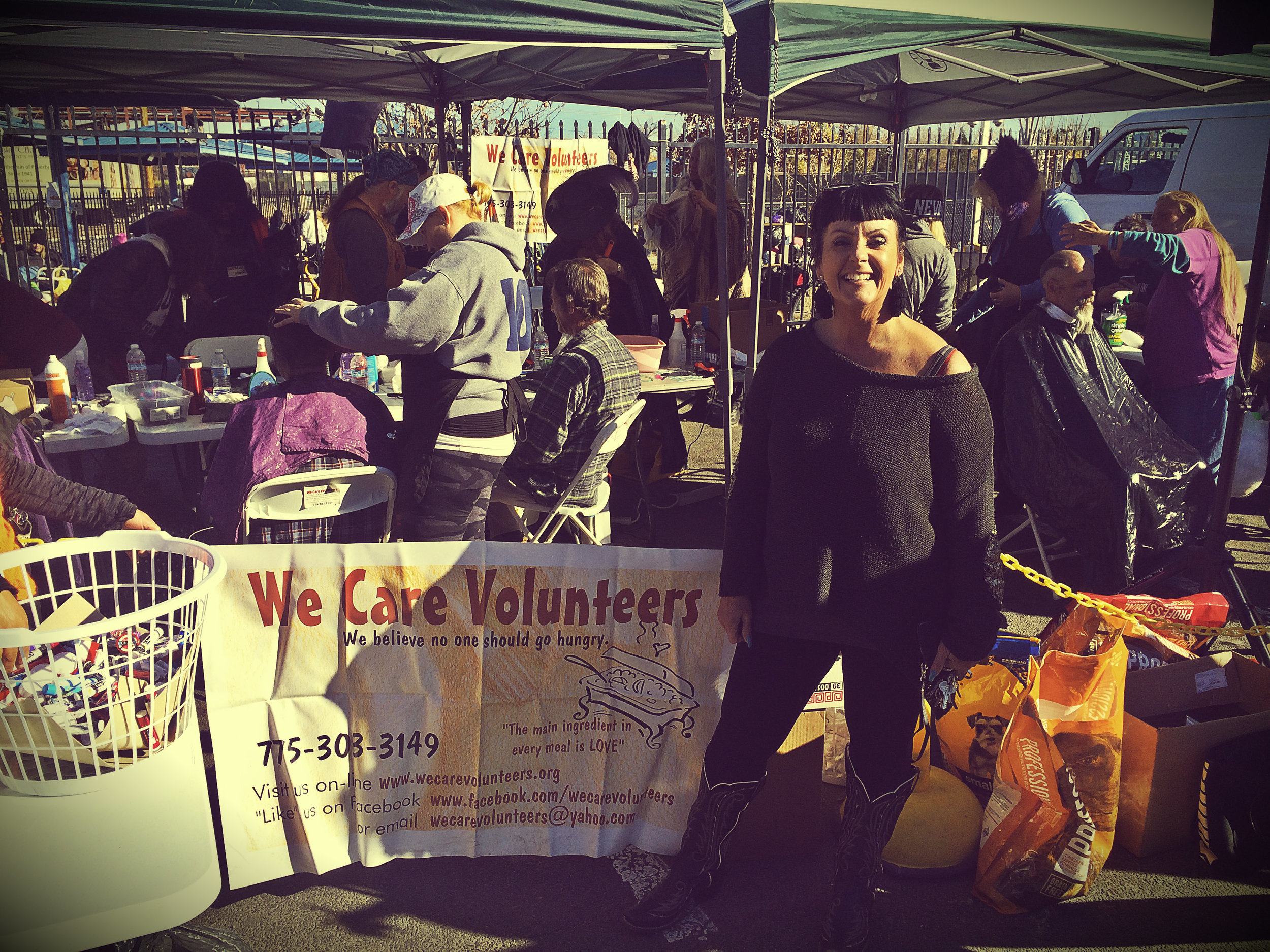 """How to turn good ideas into even better activism? Meet Amber Dobson, the coordinator of the We Care Volunteers, which has two taglines to its main logo: """"We believe no one should go hungry"""" and """"The main ingredient in every meal is LOVE."""""""