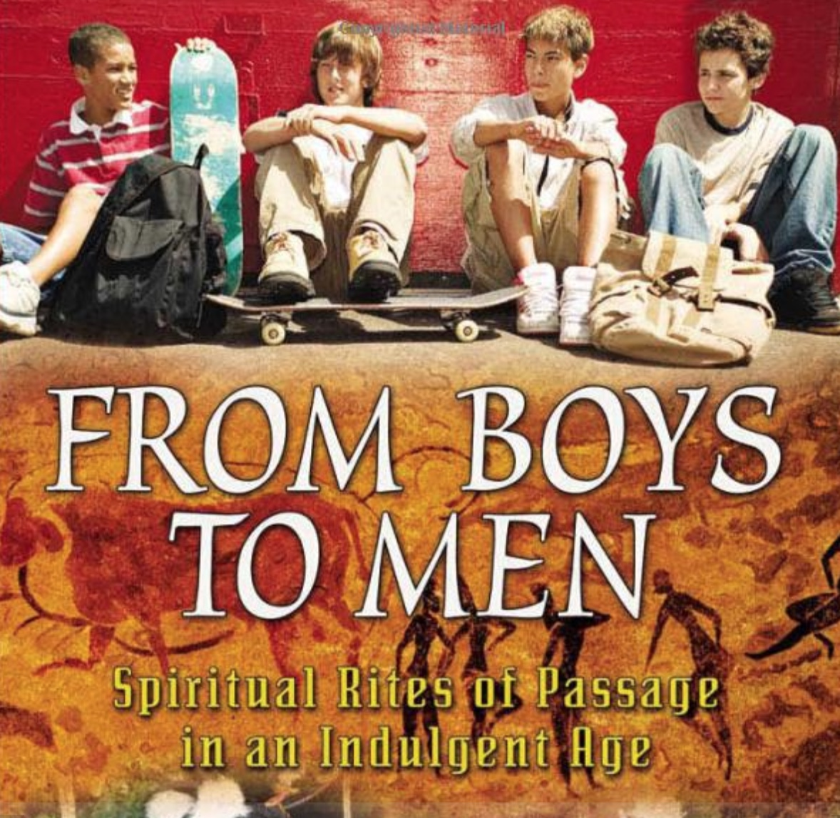 """His first book can be found here on  Amazon . """" From Boys to Men  is about the loss of initiation and rites of passage for modern boys,"""" Stephenson said.""""Men are just forms of uninitiated boys and the problem we are having right now such as the increase of deadbeat dads is that none of us has been initiated. America turns you from a boy into an adult with a birthday at 21. And you get all the rights and privileges of a society."""""""