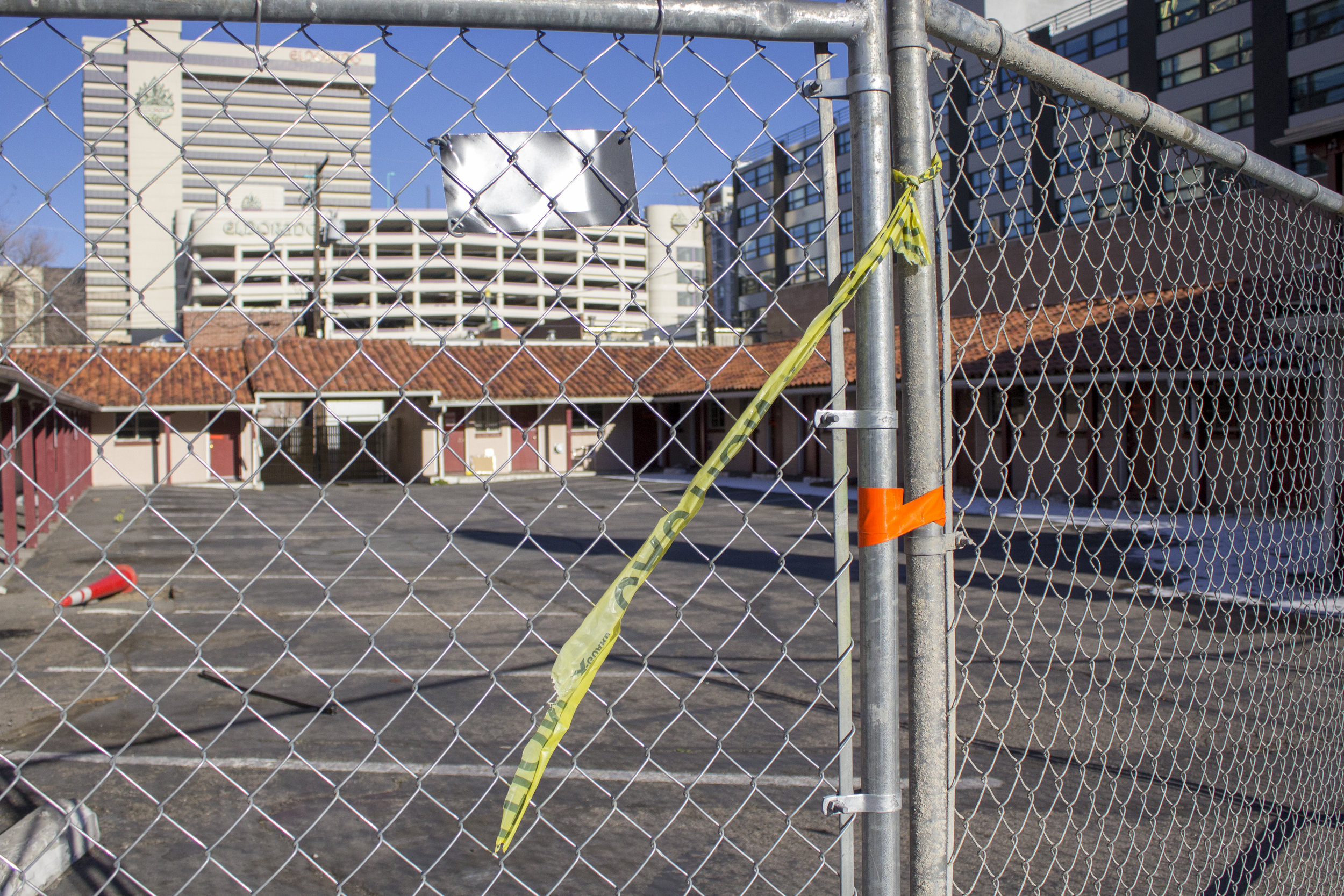 Motels are being bought out and razed to the ground as Reno redevelops, but what about those who rely on motels for their long term lodging? Photo by Robyn Feinberg for Our Town Reno.