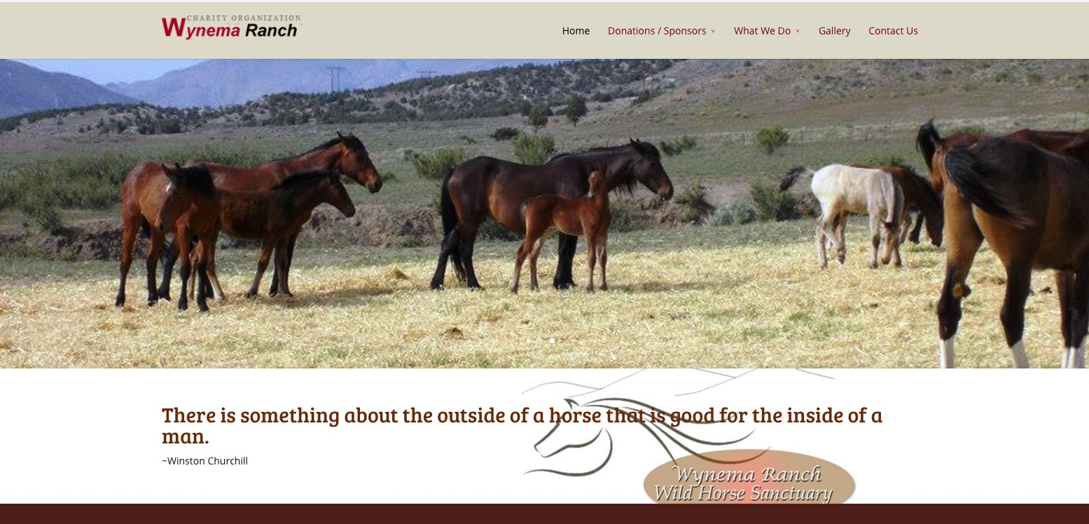 Floyd plans to build a new lodge to house homeless people on his property, the Wynema Ranch, located 29 miles from Reno on the California/Nevada border. The ranch already serves as a wild horse sanctuary which he runs with his wife, Shari Floyd.