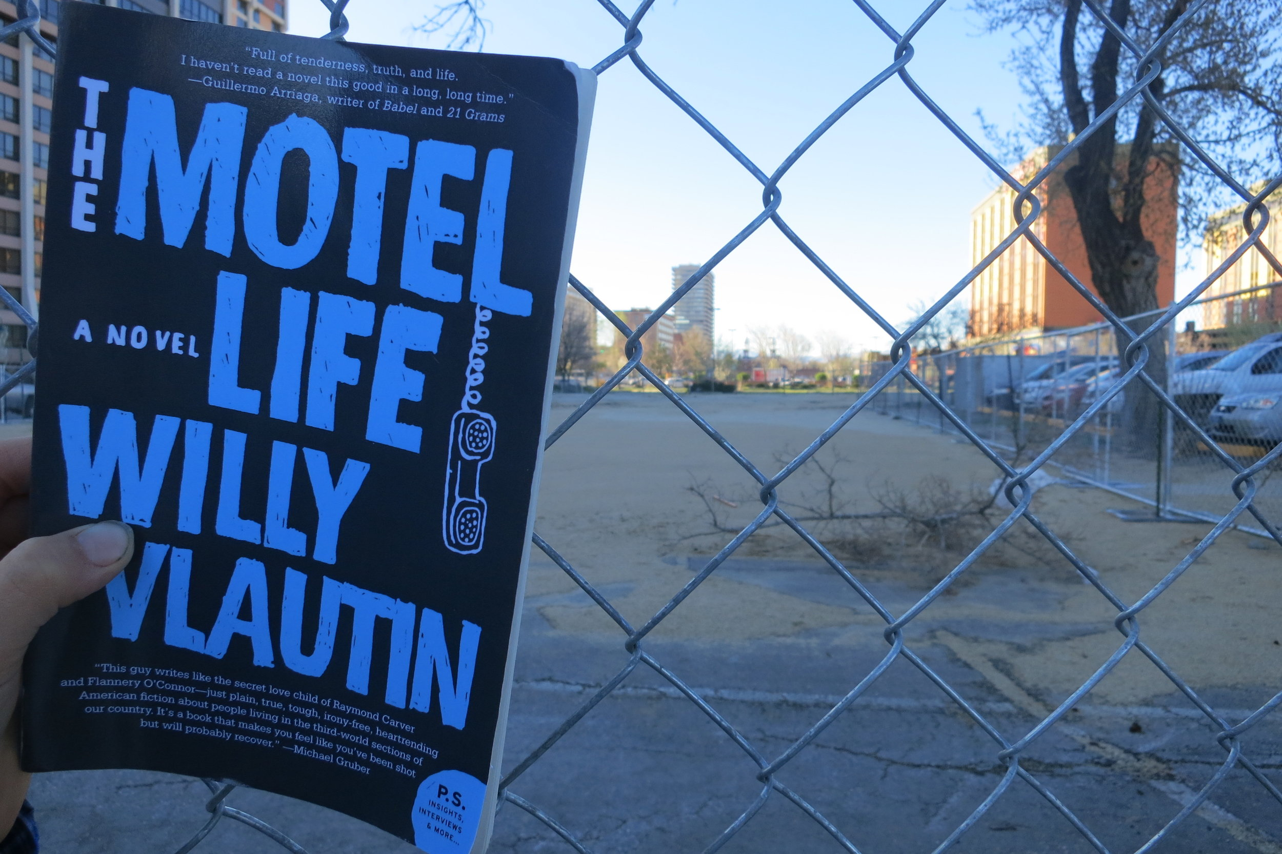 The Motel Life, the debut novel by Willy Vlautin, was published in 2006 at a time most motels were still up in downtown Reno. It's based on his own experiences growing up in the Biggest Little City. The book lives on, while the motels, which were the backdrop of his novel about brothers living on the margins, slowly disappear. Vlautin used to stay at the Stardust Lodge which is now just an empty lot.