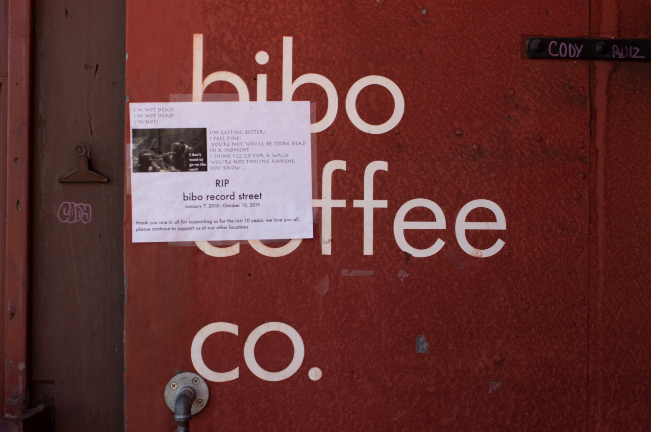 After nearly ten years of serving the community including UNR students, creatives and local artists; the Bibo coffee company's Record street location to the south of UNR's campus is set to be demolished to make room for student housing. Owners said they were on a month to month lease and then were suddenly told their time was up.
