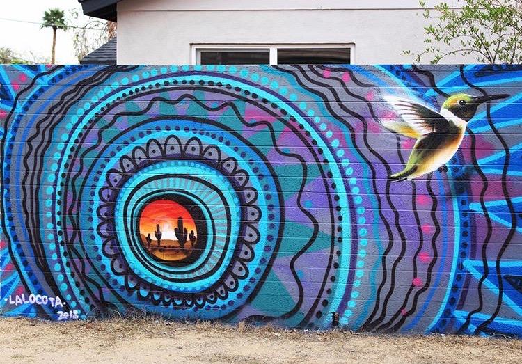 Oak Street Alley Murals
