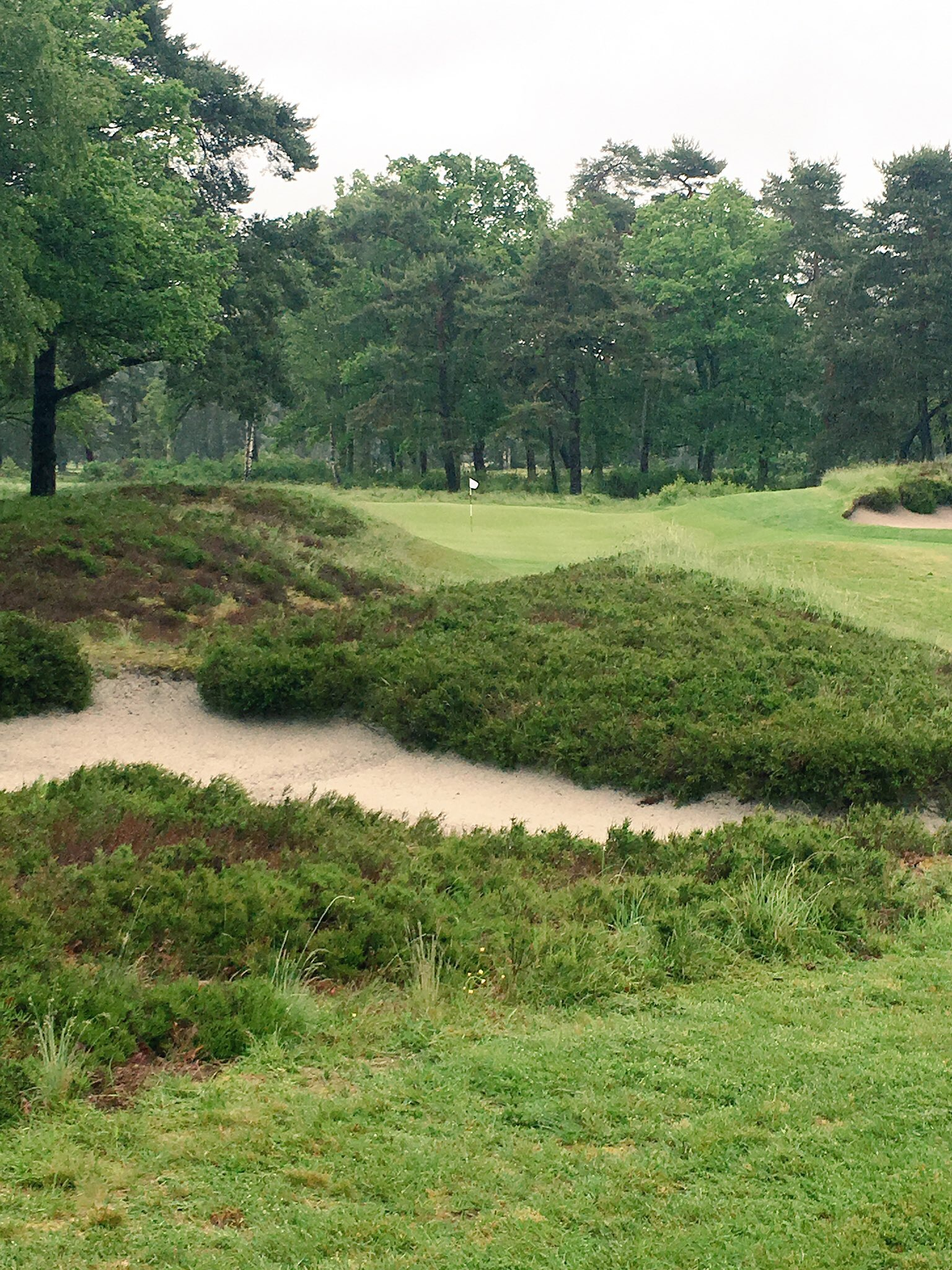 The 9 hole Valieres course is a great test
