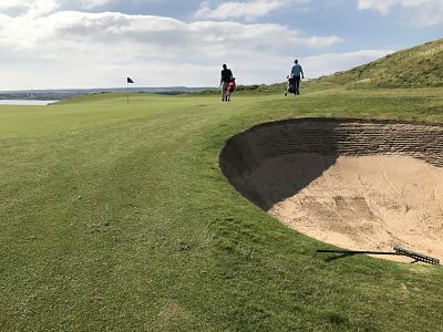 Lahinch Golf Club is one of the very best in the world and won't beat you up like some of the others in the area!