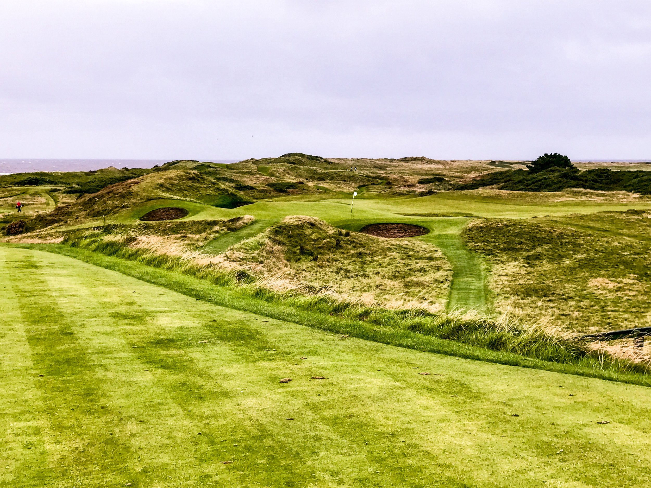 The Postage Stamp may be the most famous par 3 in the UK