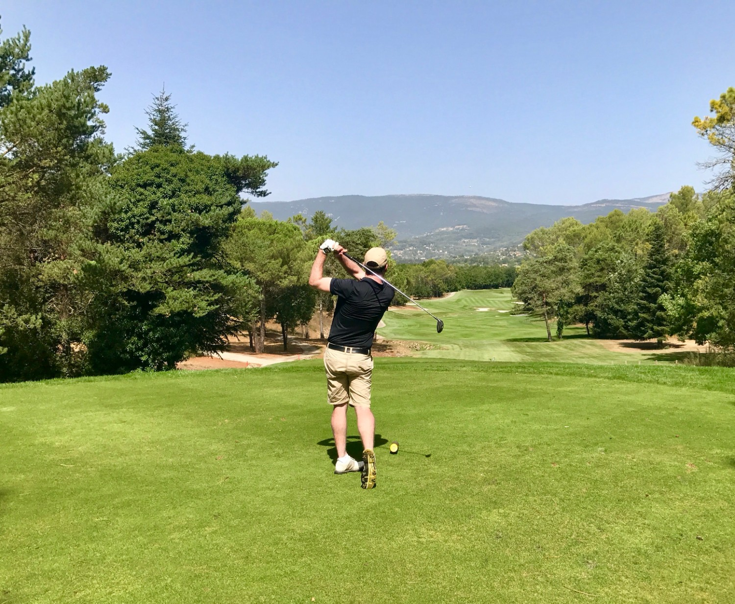 Terre Blanche is a wonderful golf course in the south of france