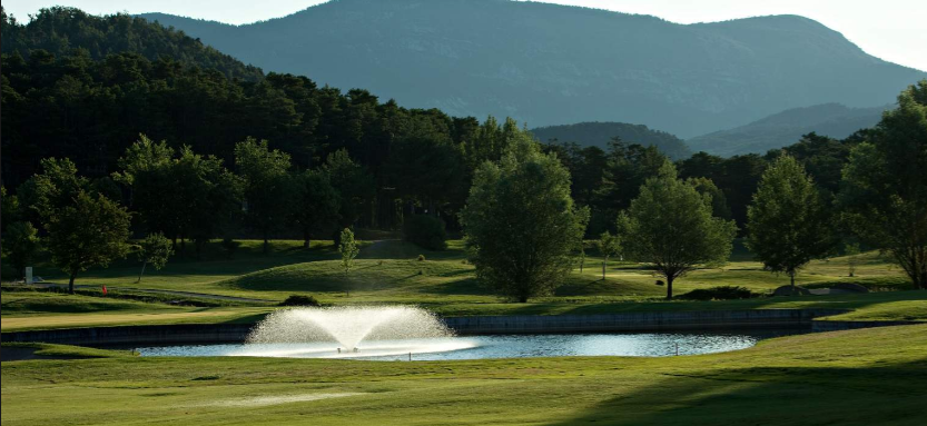 Taulane is a lovely course that plays through the trees in the south of France. Image from www.chateau-taulane.com