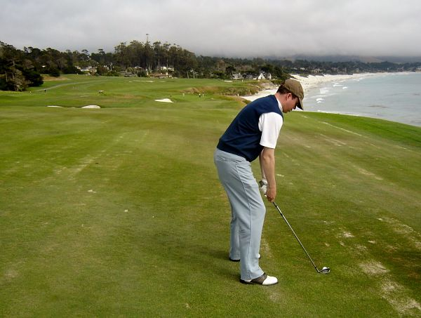 Pebble Beach Golf Links is the most searched golf course on the planet!
