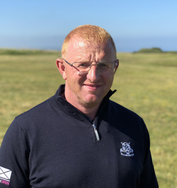 Stewart Duff - Course Manager at Gullane
