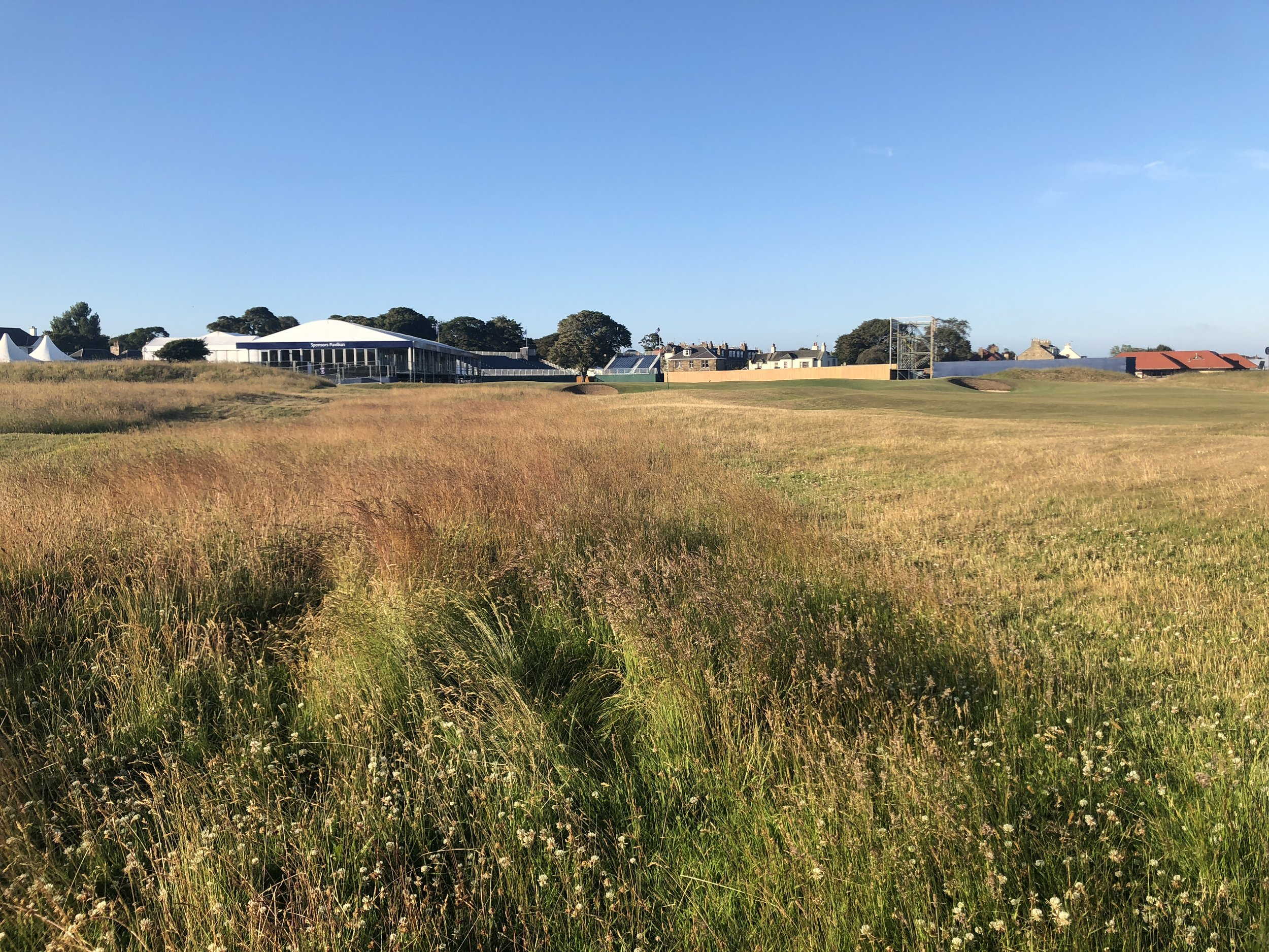 While the fairways are wide at Gullane, the rough can still be punishing
