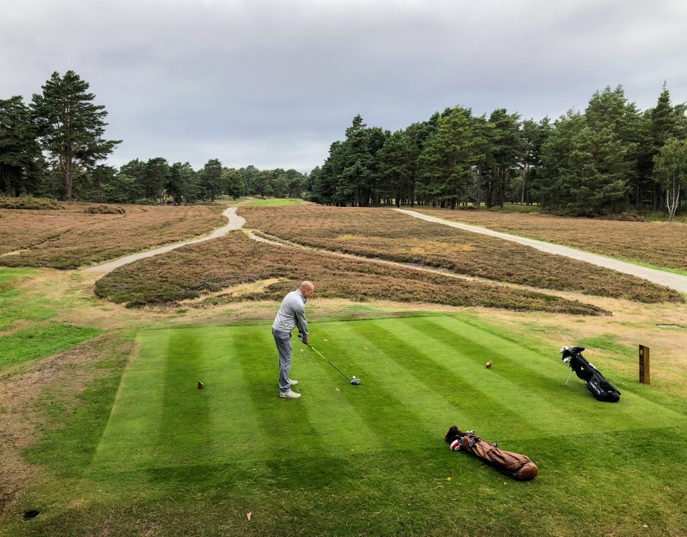 There is plenty to think about from the tees at Sunningdale New