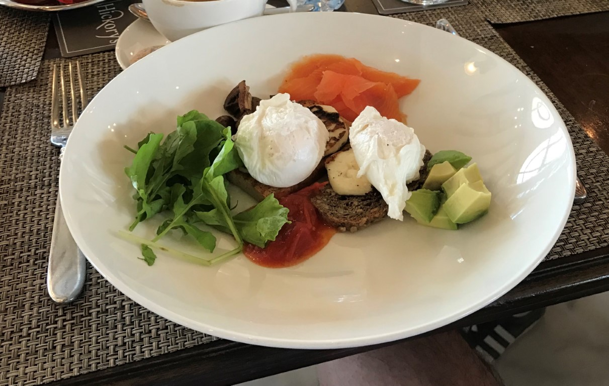 More poached eggs - Yas Links style here