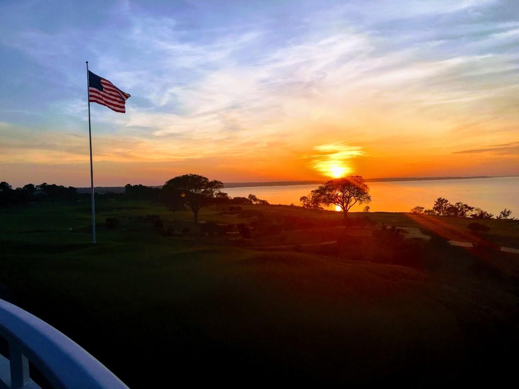 Sunset at Sebonack