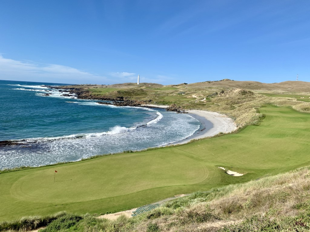 Cape Wickham may have the best 1st and 18th hole combination anywhere in the world according to Tom Doak