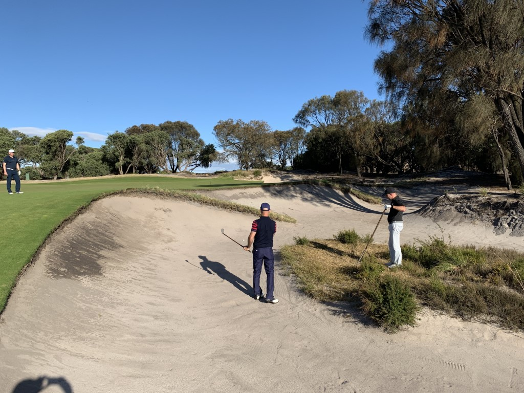 Expect a very high standard of bunkering all the way around Royal Melbourne