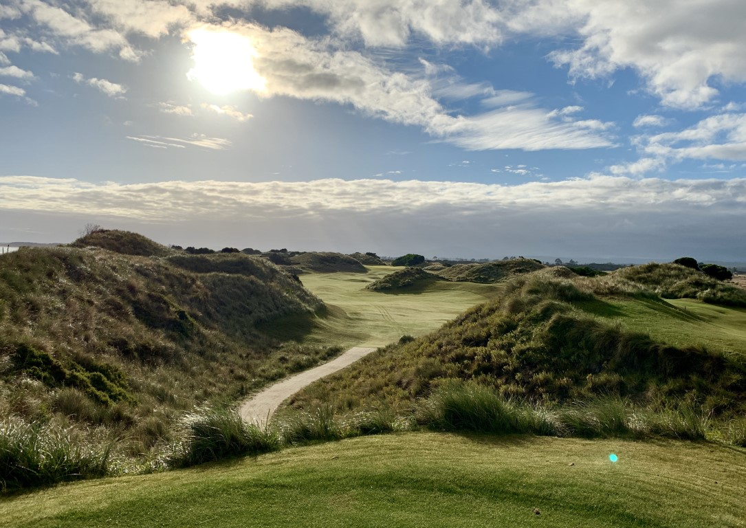 Barnbougle Dunes feels like a great British links course