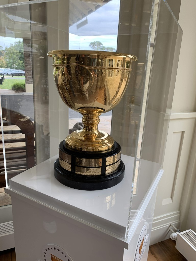 The President's Cup on display