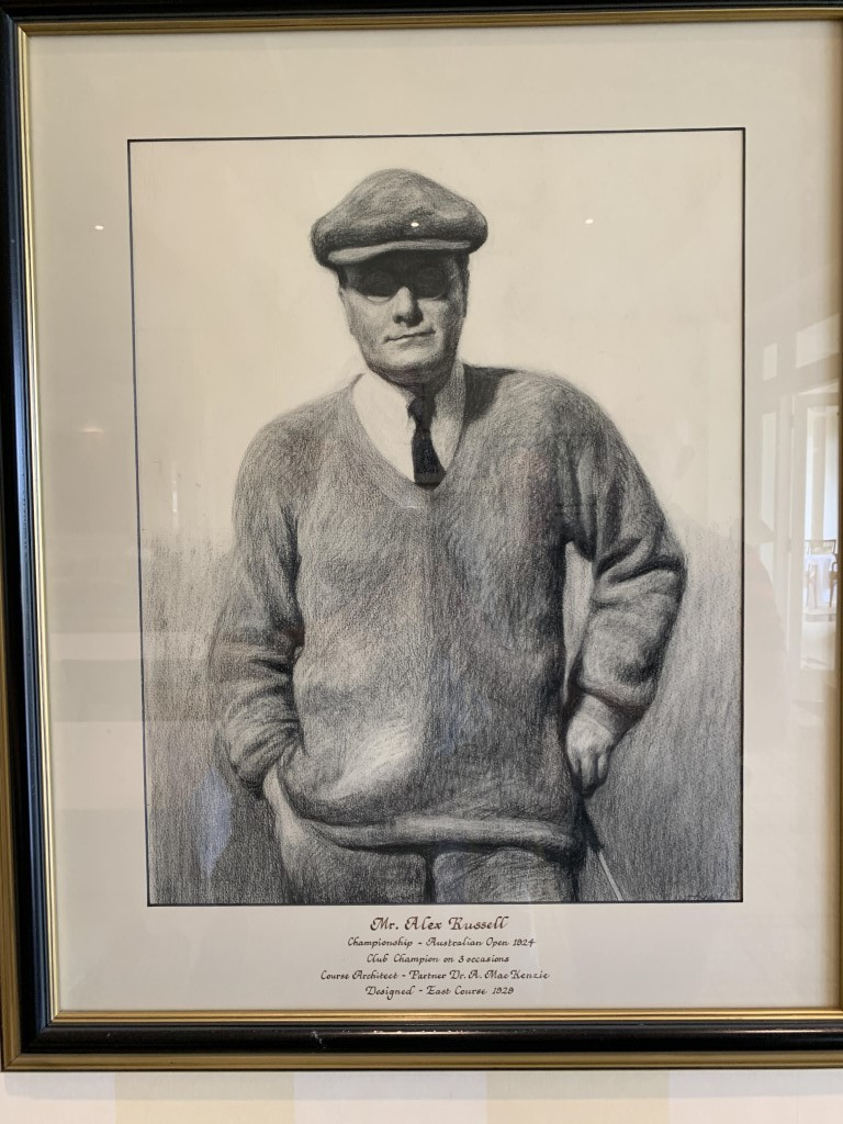 Alex Russell, the man who built Royal Melbourne