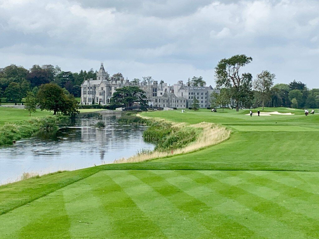 The spectacular 18th at Adare Manor