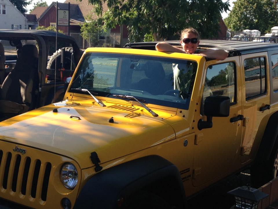 Tina Lefebvre 2015 Jeep Wrangler Molalla, OR