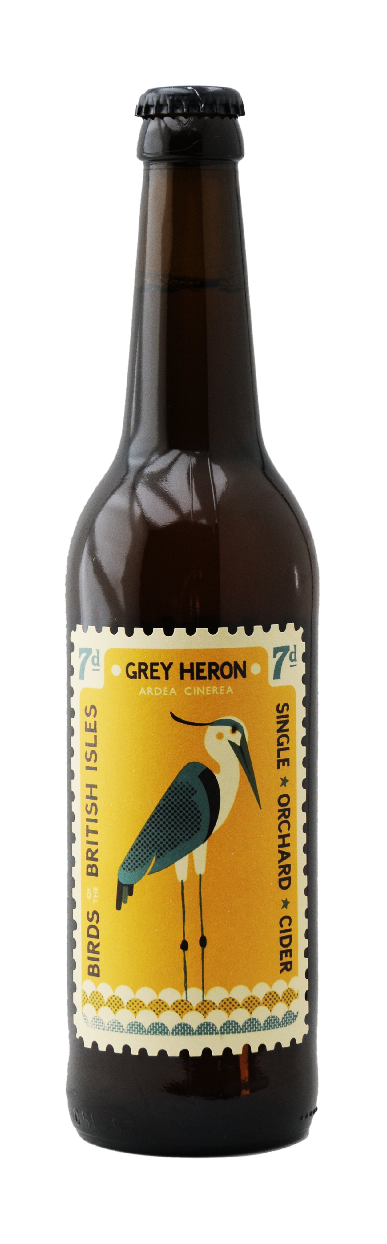 Grey Heron Bottle