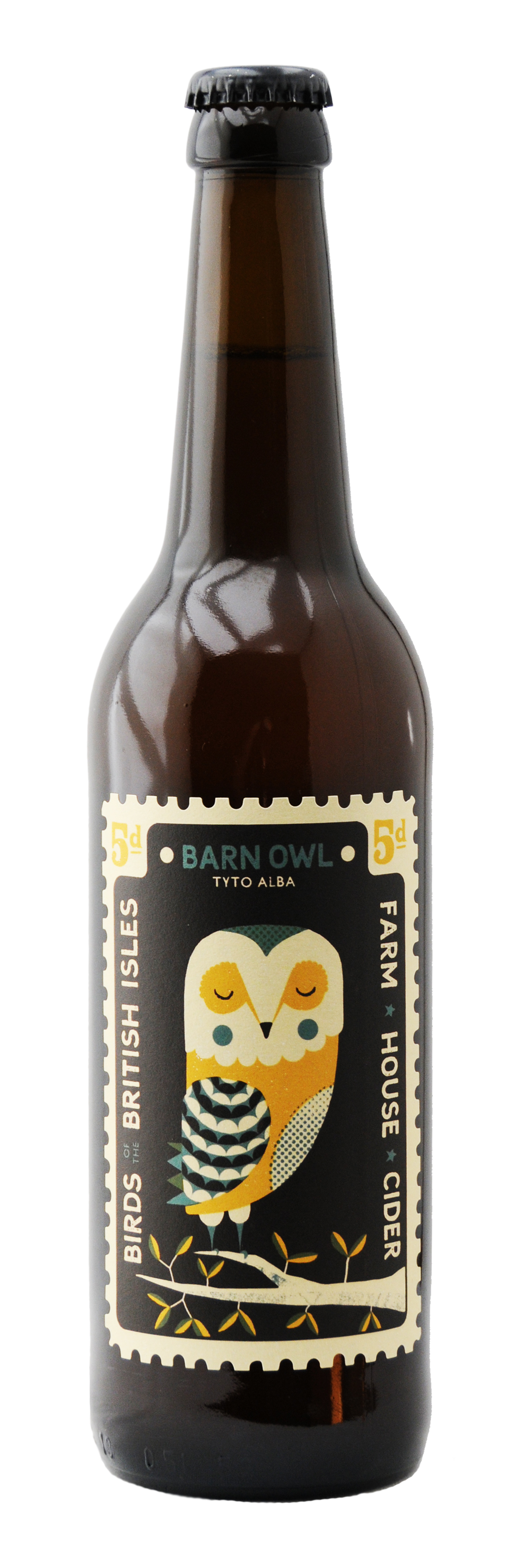 Barn Owl Bottle