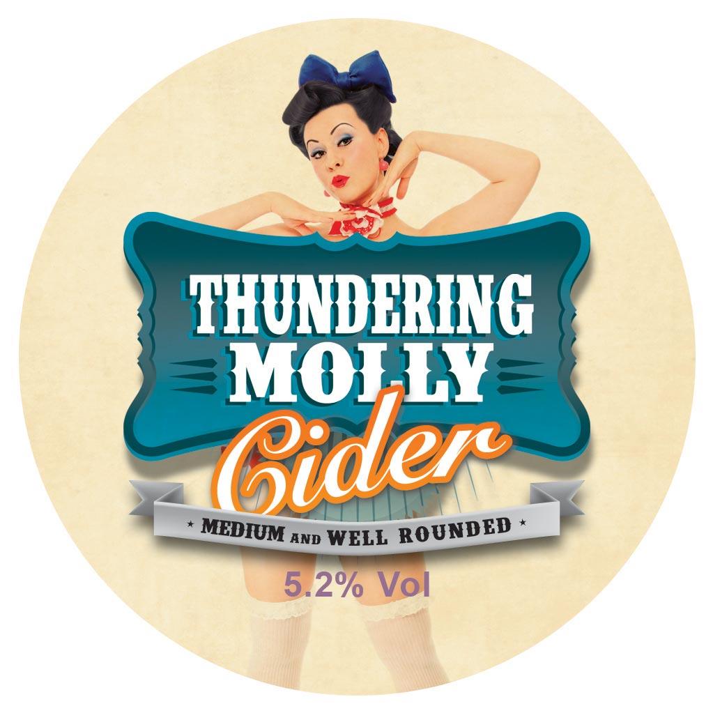 T Molly Round Logo