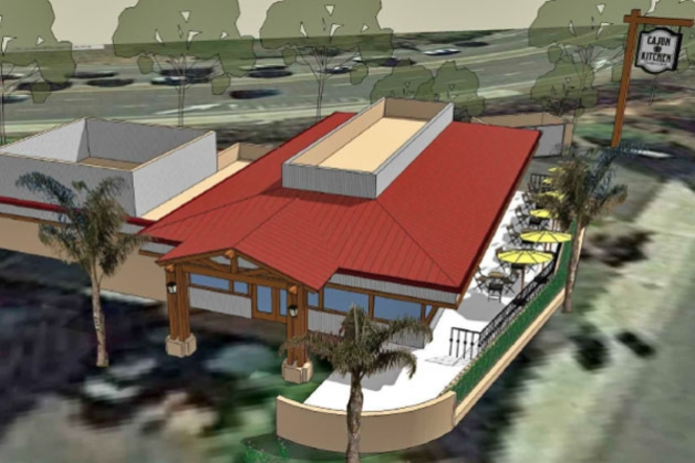 Cajun Kitchen's proposed new restaurant location in Goleta