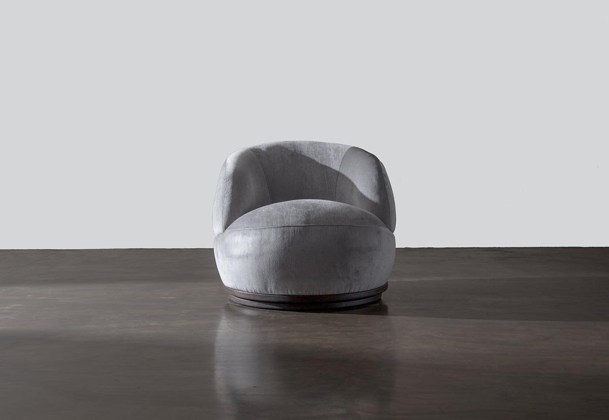 The Orbit Chair & Ottoman