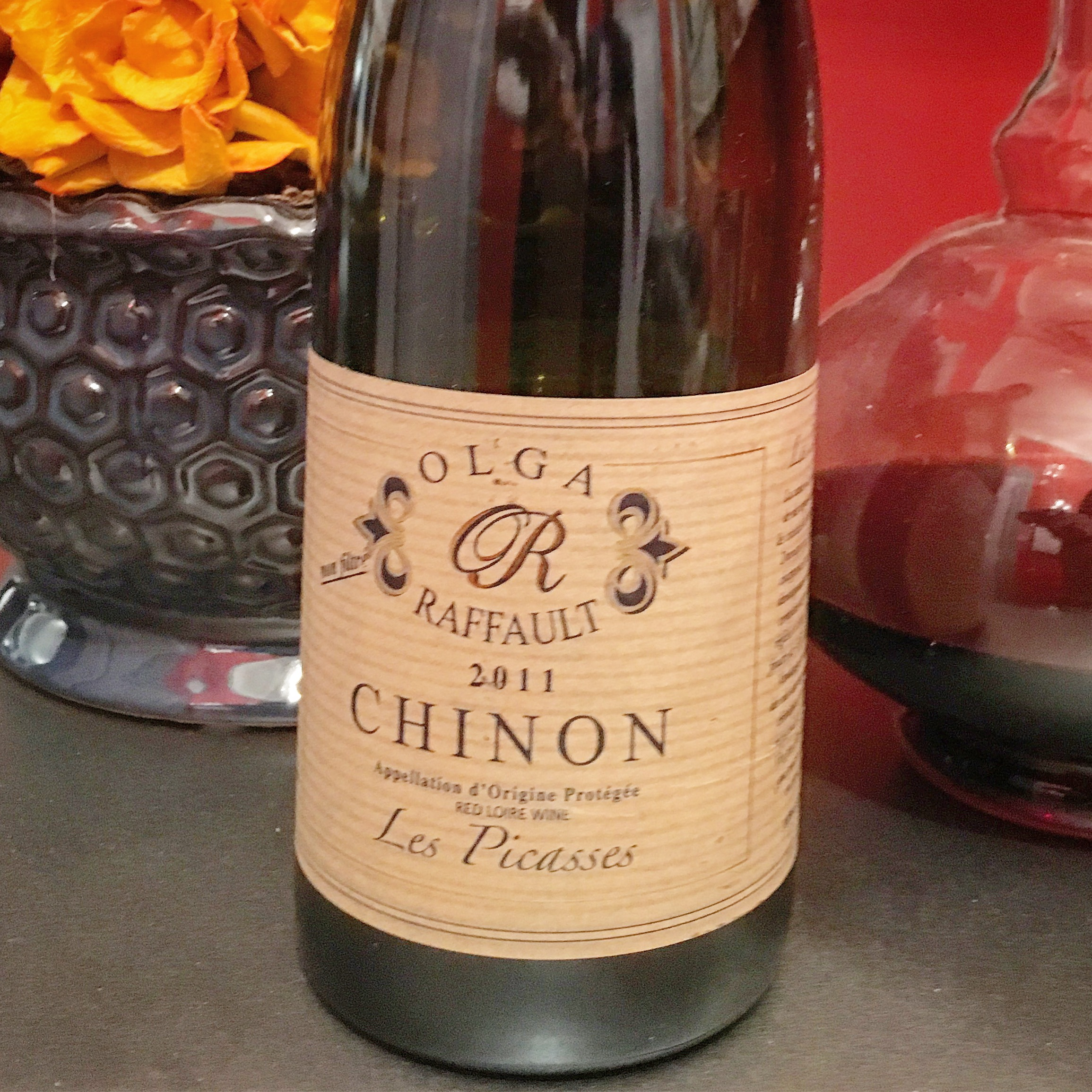 A 100% Cabernet Franc wine from Chinon In The Loire Valley
