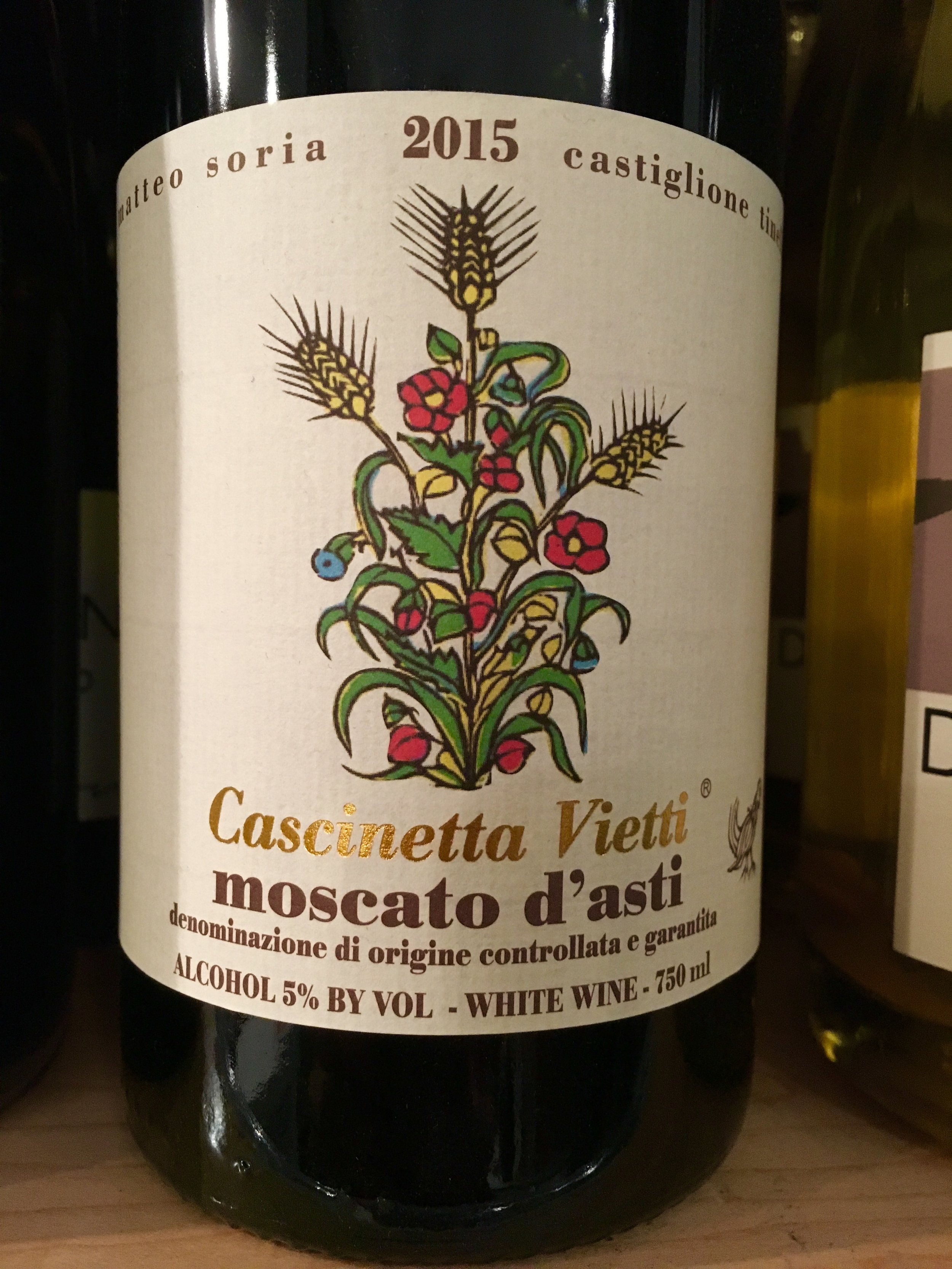 A beautiful label to go along with a beautiful wine!