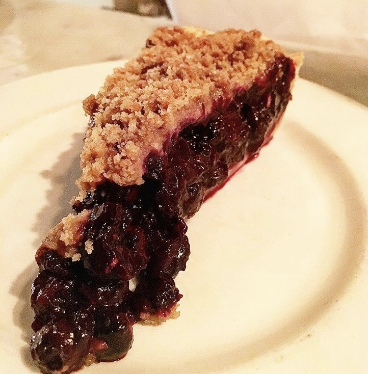 Blueberry pie, Pearl Oyster Bar