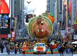 Get the turkey ready while you watch the Macy's Thanksgiving Day Parade on TV!